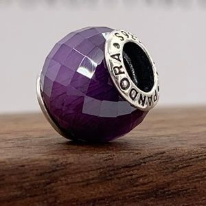 Pandora Abstract faceted silver charm #791499ACZ
